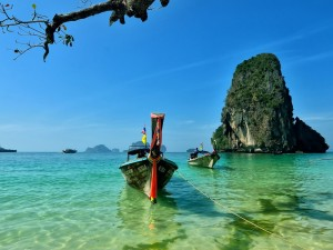 Beautiful, tranquil Thailand . . .